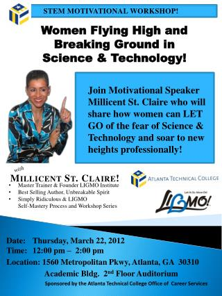 Date:	Thursday, March 22, 2012 Time: 	12:00  p m �  2:00 pm