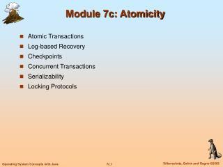 Module 7c: Atomicity