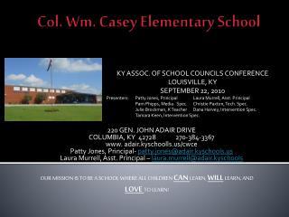 Col. Wm. Casey Elementary School