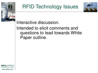 RFID Technology Issues