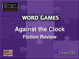 Against the Clock Fiction Review