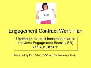 Engagement Contract Work Plan