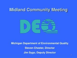 Midland Community Meeting