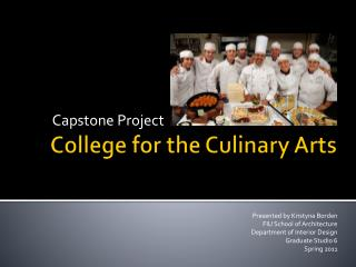 College for the Culinary Arts