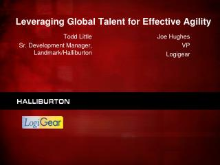 Leveraging Global Talent for Effective Agility
