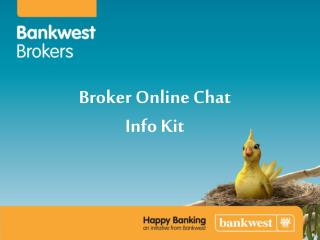 Broker Online Chat Info Kit