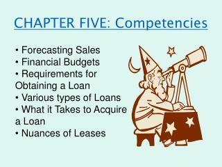CHAPTER FIVE: Competencies