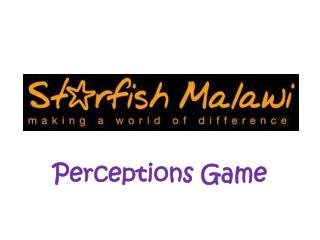 Perceptions Game