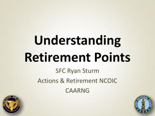 Understanding Retirement Points