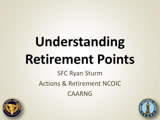 Understanding Retirement Points