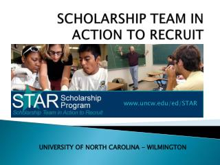 SCHOLARSHIP TEAM IN  ACTION TO RECRUIT