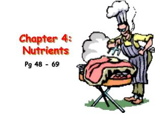 Chapter 4: Nutrients