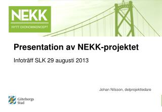 Infoträff SLK 29 augusti 2013