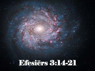 Efesiërs 3:14-21