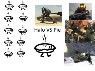 Halo VS Pie