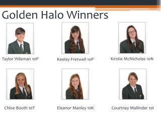 Golden Halo Winners