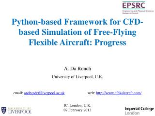Python-based Framework for CFD-based Simulation of Free-Flying Flexible Aircraft: Progress