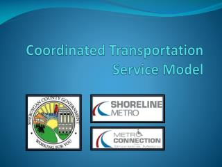 Coordinated Transportation Service Model