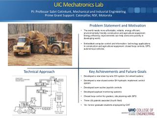 UIC  Mechatronics  Lab