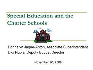 Special Education and the Charter Schools