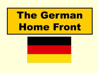 The German Home Front