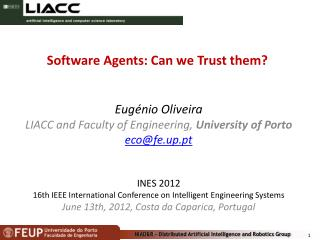 Software Agents: Can we Trust them?