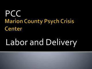 Marion County Psych Crisis Center