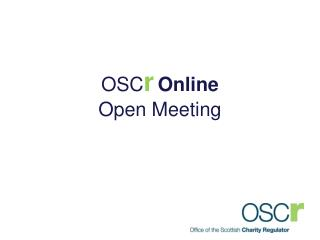OSC r Online  Open Meeting