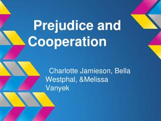 Prejudice and Cooperation