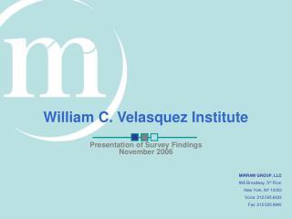 William C. Velasquez Institute