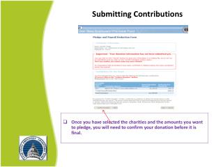 Submitting  Contributions