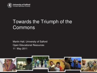 Towards the Triumph of the Commons