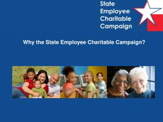 Why the State Employee Charitable Campaign?