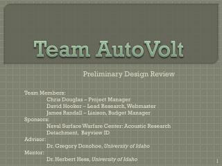 Team AutoVolt