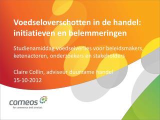 Voedseloverschotten in de handel: initiatieven en belemmeringen