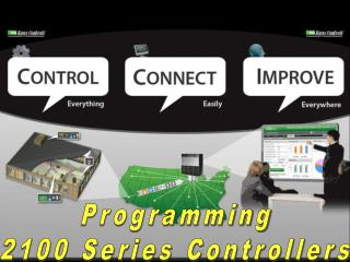 Programming 2100 Series Controllers