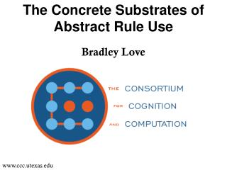 The Concrete Substrates of Abstract Rule Use