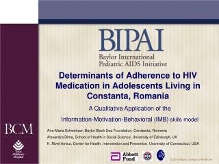Determinants of Adherence to HIV Medication in Adolescents Living in Constanta, Romania