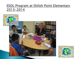ESOL Program at  Shiloh Point Elementary 2013-2014