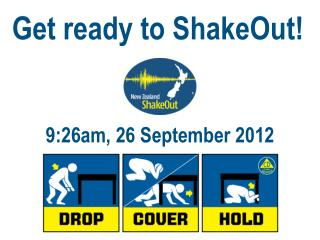 Get ready to ShakeOut!