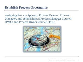 Establish Process Governance