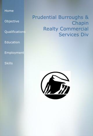 Prudential Burroughs & Chapin   Realty Commercial Services Div