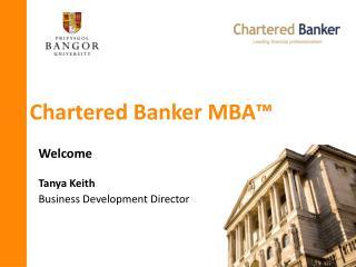 Chartered Banker MBA �