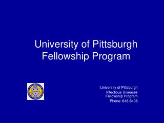 University of Pittsburgh Fellowship Program
