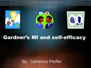 Gardner's MI and self-efficacy