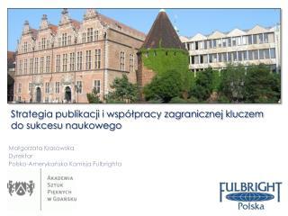 Strategia publikacji i wsp�?pracy zagranicznej kluczem do sukcesu  naukowego