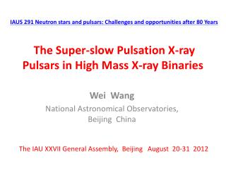 The Super-slow Pulsation X-ray Pulsars in High Mass X-ray Binaries