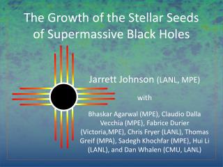 The Growth of the Stellar Seeds of Supermassive Black Holes