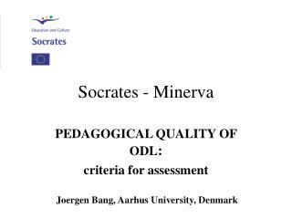 Socrates - Minerva