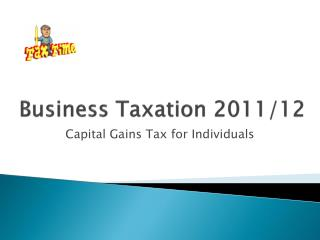 Business Taxation 2011/12